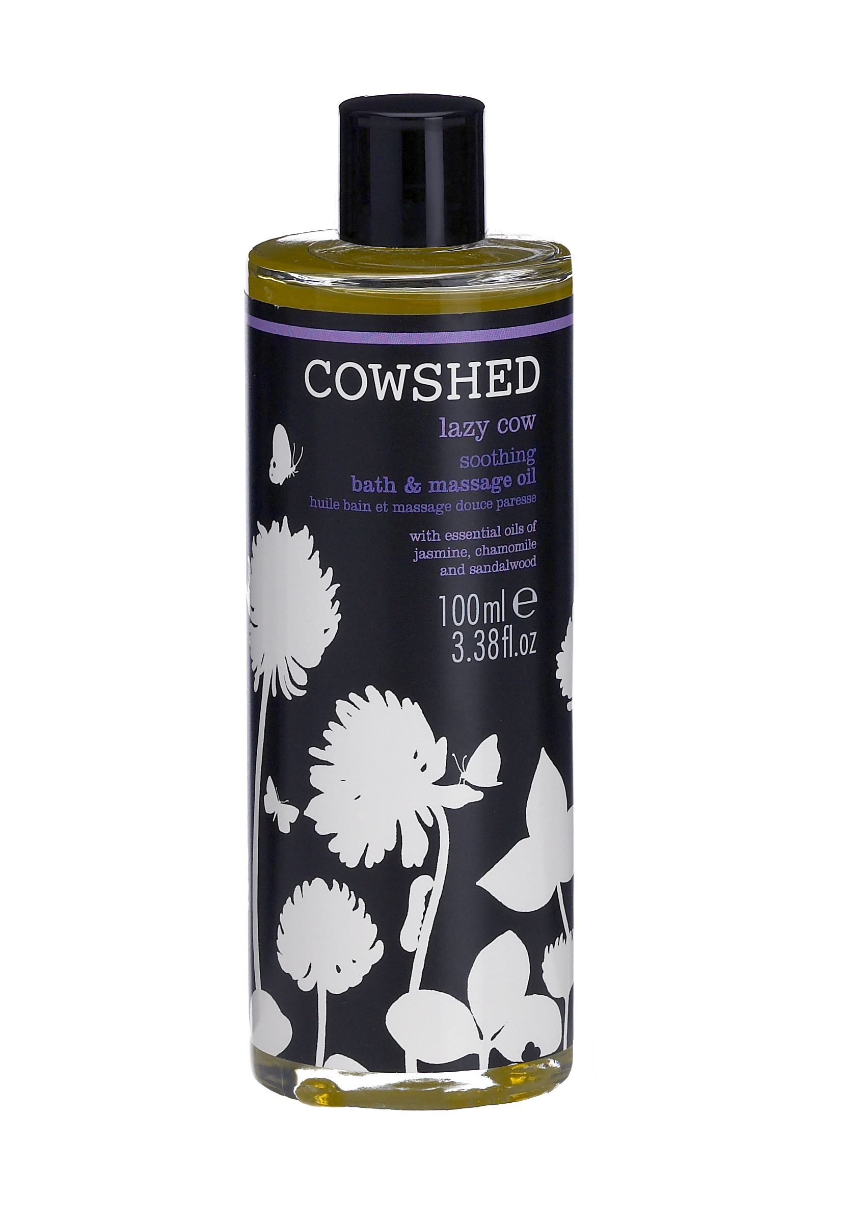 Image of   Cowshed Lazy Cow Soothing Bath & Body Oil 100 ml.