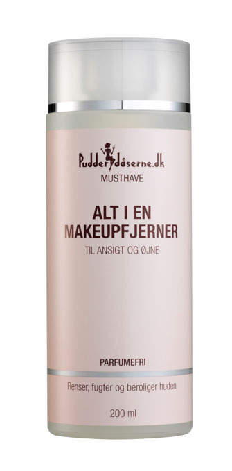 Image of   Pudderdåserne Alt i en makeupfjerner