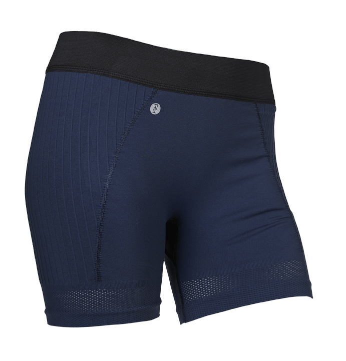 Billede af Run and Relax Seamless Mesh yogashorts