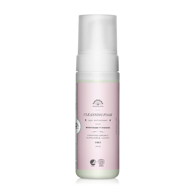 Rudolph Care Açai Cleansing Foam 150 ml.