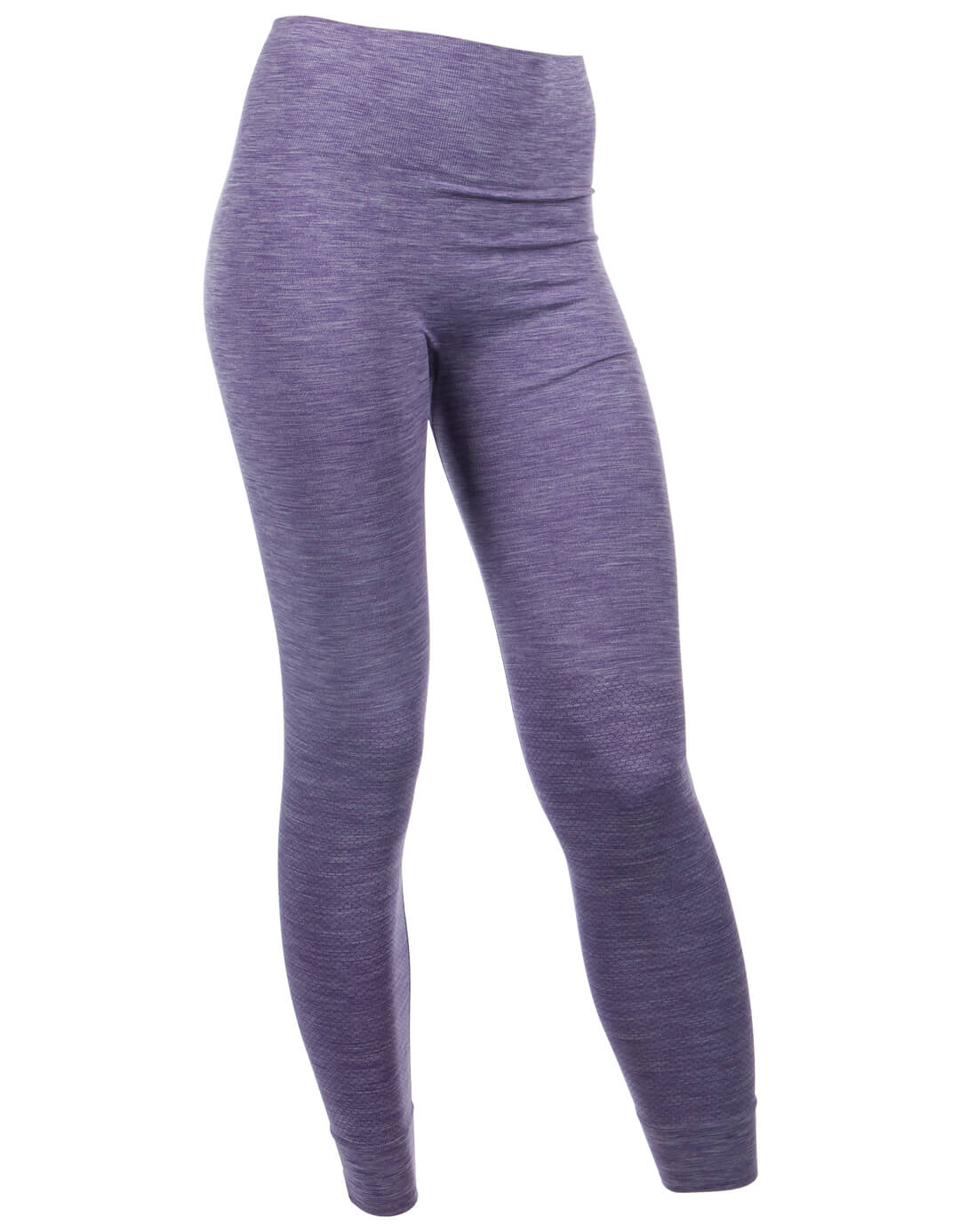 Run and Relax Bandha Tights - Rich Purple/White