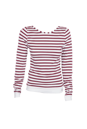 Run and Relax Yoga Sweater - Stripes