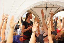 En snak stifterne bag Copenhagen Yoga Festival, Stina og Mai..