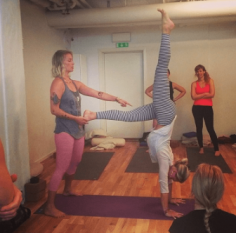 Embodied Flow Workshop i Stockholm med Satu Tuomela