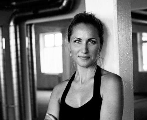 Trine Zafina Søndergaard underviser på Copenhagen Yogafestival