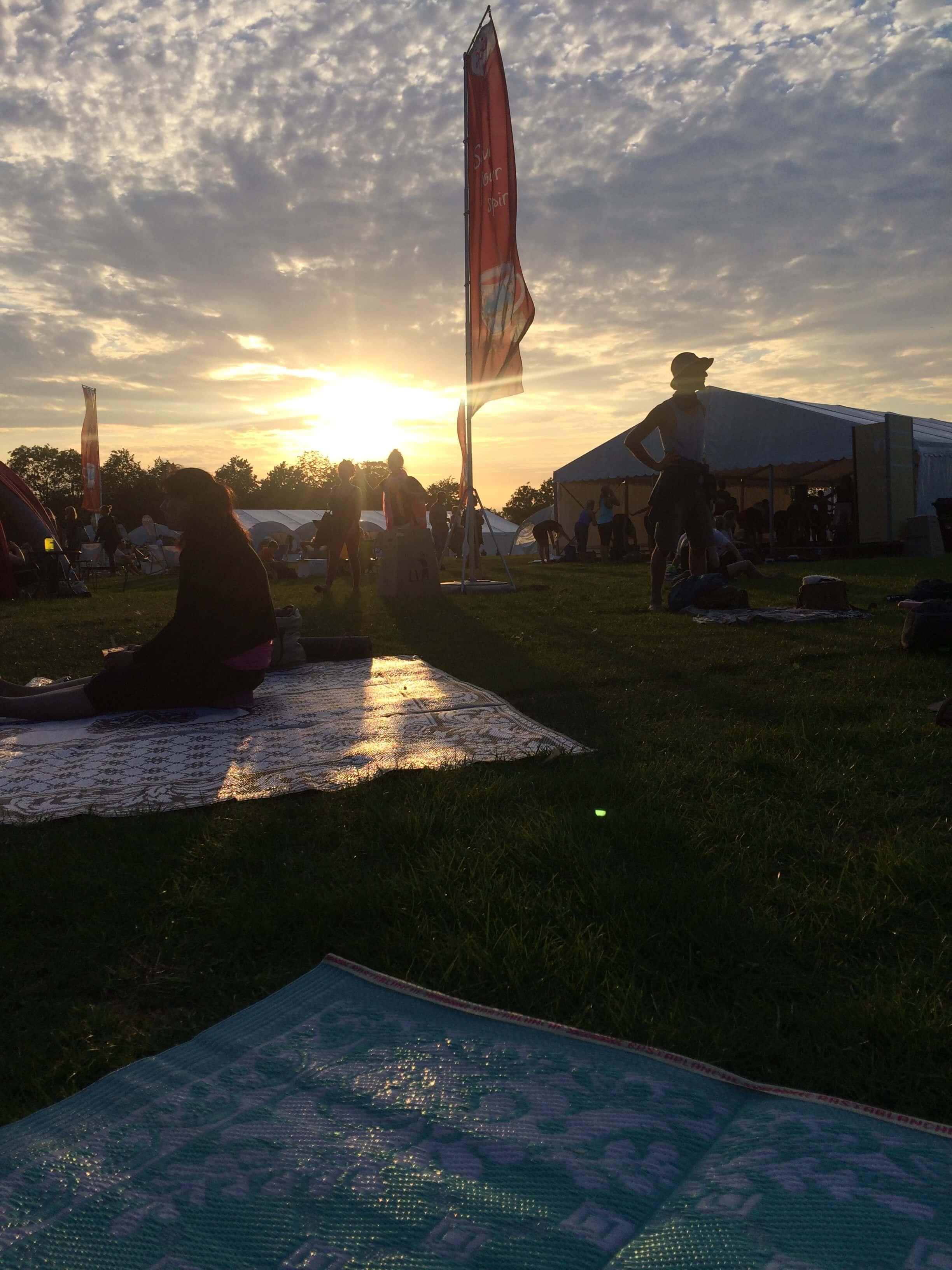 Mødt på Copenhagen Yoga Festival pladsen